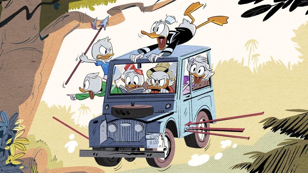 Bild från nya Ducktales.