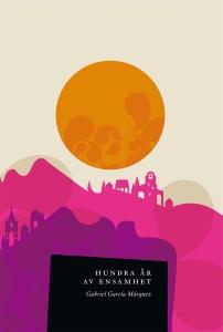 Omslag till Gabriel García Márquez bok Hundra år av ensamhet